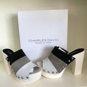 New Charles David Mules